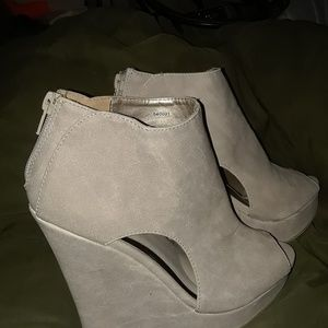 Charlotte Russe Wedged shoes